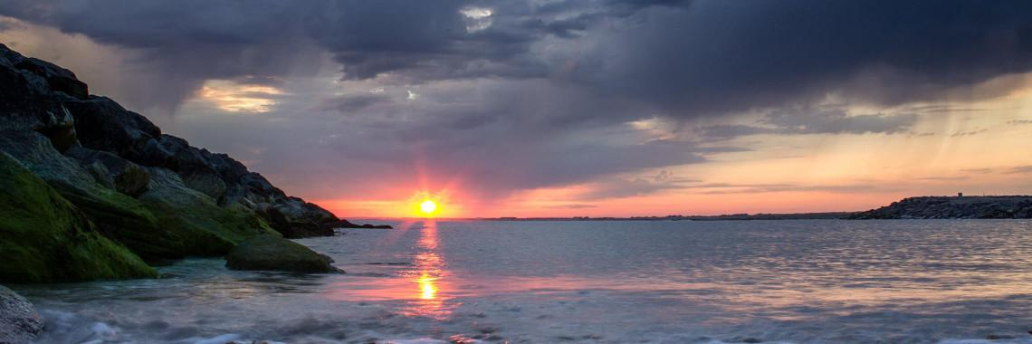 Thumbnail image of Web Slider Selsey Sea Defence and Sunset