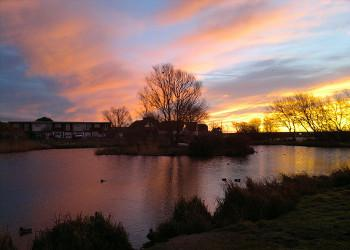 Thumbnail image of Web Placeholder East Beach Pond Sunset
