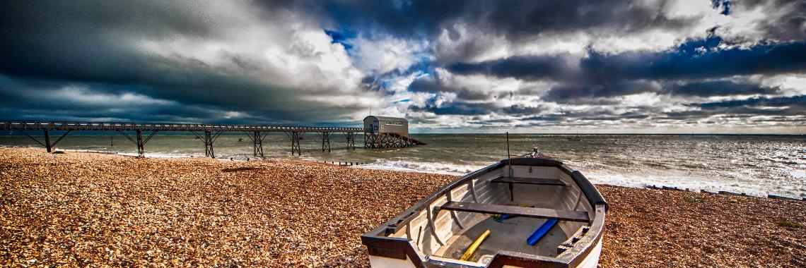 Thumbnail image of Web slider Boat with dramatic sky