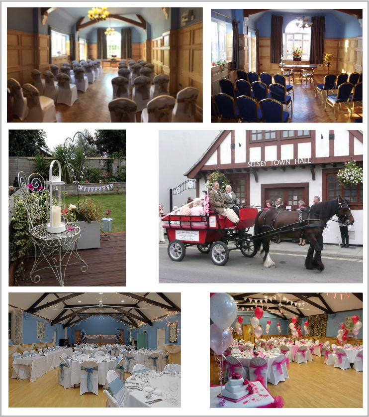 Weddings at Selsey Town Council