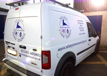 Selsey Town Council Van